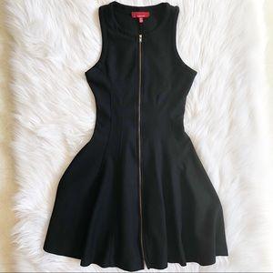 Red by Sak's Fifth Avenue Black Skater Dress
